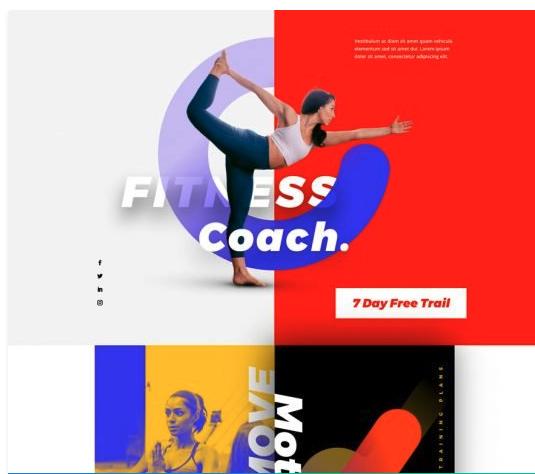 Yoga/Fitness Coach Template